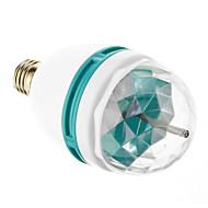3W 3xHigh 전원 RGB 빛 LED 수정 같은 마술 단계 빛 회전 램프 (85-265V)