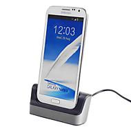 Desktop Dash Stand Dock Cradle bilholder til Samsung Galaxy Mega 6,3 i9200