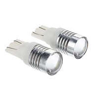 marsing® t10 5w 500lm cree 6500k luz blanca bombilla LED para coche (12V DC, 2 piezas)