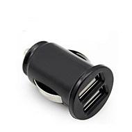 Universal Car Auto Virta Dual 2 Port USB 2.1A autolaturi adapteri iPhone iPad HTC Samsung ...
