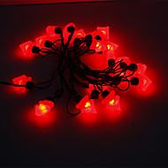 5M 15W 20-LED Red Light Pine Tree Shaped LED Strip Light (220V)