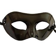 Masker Cosplay Festival/Feestdagen Halloween Kostuums Zwart Effen Masker Halloween / Carnaval / Nieuwjaar Unisex PVC
