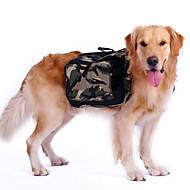 Hunde Rucksack Hundekleidung Sport camuflaje Grün