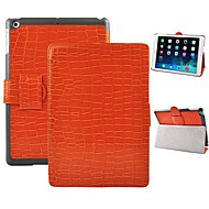 Angibabe Crocodile Pattern Flip Stand Cover Leather Case with Auto Sleep/Wake Up for iPad Air / iPad 5