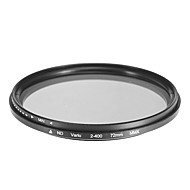 Rotatif filtre ND pour appareil photo (72mm)