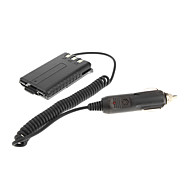 Baofeng Car Charger Battery Eliminator Adapter Vehicle Power Supply for UV-5R Two-way Radio