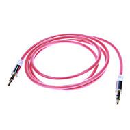 Audio jack de 3.5mm Cable de conexión (1.04m rojo)