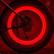 FJQXZ génie Silicones Rouge vélo a parlé la lumière