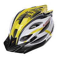Helmet Pyörä (Keltainen / Valkoinen , PC / EPS)-de Naisten koot / Miesten / Unisex -Pyöräily / Maastopyöräily / Maantiepyöräily /