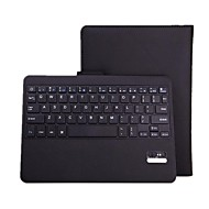 Bluetooth V3.0 64-Key Keyboard with Protective PU Leather Case Stand  for Samsung Galaxy Tab Pro 10.1