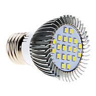 5W E26/E27 Ampoules Maïs LED MR16 20 SMD 2835 370-430 lm Blanc Froid AC 100-240 V