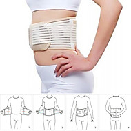 Self Heating Back Supporter Waist Lower Back Support Belt Breathable Brace-BLACK