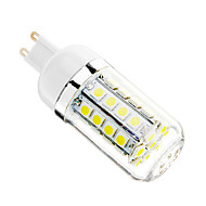 5W G9 LED Corn Lights T 36 SMD 5050 480 lm Cool White AC 110-130 V