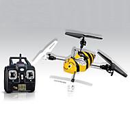 SYMA X1 Hélicoptère RC 4 Canaux 2.4G Jaune Fibre Nylon
