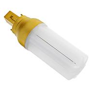 G24 4 W 72 SMD 3014 320-350 LM Cool White Decorative Corn Bulbs AC 220-240 V