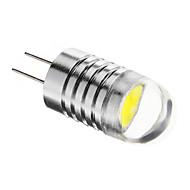 G4 1.5 W 1PCS COB 90-120 LM Cool White Spot Lights DC 12 V