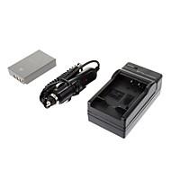 ismartdigi-Oly BLS-5 1150mah, 7.4V Camera Battery+Car charger for OLYPUSE-PL2 E-PL3 E-P3 EPL5 E-PM1 PM2 PM3
