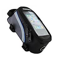 ROSWHEEL® Bike Bag 1.5LTaske til stangen på cyklen / Cell Phone BagVandtæt / Reflekterende Stribe / Skridsikker / Påførelig / Touch