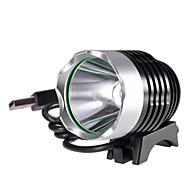 Verlichting Hoofdlampen LED 1200 Lumens 3 Mode Cree XM-L T6 C-cel Waterdicht / Oplaadbaar / zelfverdediging Aluminium Legering
