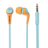 Awei Q6i Stereo Noise Isolating In-Ear Earphone with Mic(Assorted Color) for Iphone6/Iphone6 plus