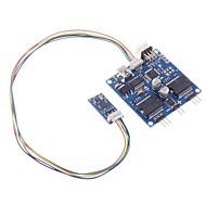 2 eixos cardan Brushless Módulo Controlador com IMU Sensor para FPV Gopro Fotografia