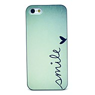 Smile Pattern Hard Case for iPhone 5/5S
