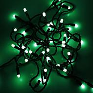 Waterproof 5M 3W 50-LED Green Light LED Strip Light (110V)