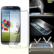 2.5D Premium Anti-shatter Tempered Glass Screen Protective Film for for Samsung S4 i9500