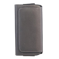 Black Lichee Pattern Magnetic Flip Leather Wallet Case For Samsung Note2/Note3/L36H