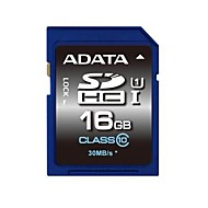 ADATA 16GB UHS-I U1 / Clase 10 SD/SDHC/SDXCMax Read Speed55 (MB/S)Max Write Speed33 (MB/S)