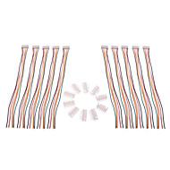 5S 6Pin 26AWG Lipo caricatore dell'equilibrio della batteria Spina (10 pz)