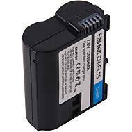 digital video batteri ersätter Nikon EN-EL15 för Nikon D7000, D800 och mer (7 V, 2550 mAh)
