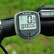 FJQXZ 고품질 방수 유선 블랙 자전거 속도계 / 스톱워치