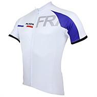 PALADIN Moto/Ciclismo Camisa / Blusas Homens Manga Curta Respirável / Resistente Raios Ultravioleta / Secagem Rápida 100% Poliéster