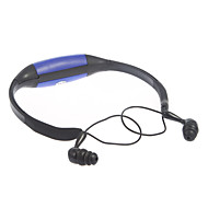 100% Waterproof Sports 8GB TF Card MP3 Player and Earphone (Blue)