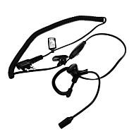 Baiston BST-M Professional Curve Tactical Walkie Talkie Headset w / Verlängerungsstange +-Schnittstelle von M