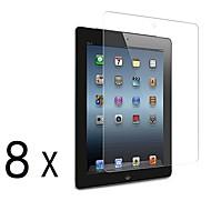 [8-pack] Prémio alta definição clara Protetores de tela para iPad 2/3/4