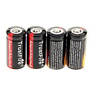 TrustFire 880 mAh 16340 batterij (4 stuks)