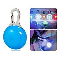 clip-on de color claro conducido lámpara de seguridad para mascotas