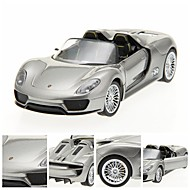 01.24 DIE-CAST PORSCHE 918 Licensed Κράμα RTR RC Car με LED φώτα