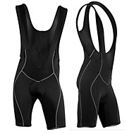 Arsuxeo Men's Cycling Bib Shorts Black