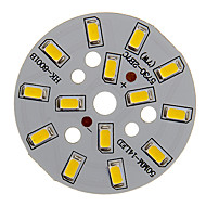 7W 600-650LM Warm White Light 5730SMD Integrated LED Module (21-24V)