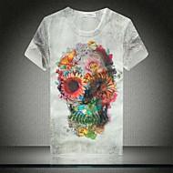 Men's Summer Print Short Sleeves T-shirt