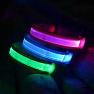 hond leidde glow halsband nylon elektrische opleiding halsbanden voor honden 8 kleuren (diverse maten)