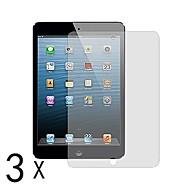 premie duidelijke screen protector voor ipad mini 3 ipad mini 2 ipad mini (3 stuks)