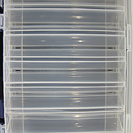 275*187*50MM Two Sides White Transparent Fishing Box Tackle Box