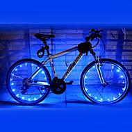 1 PC - FJQXZ (18)는 2 모드 파란 자전거 바퀴 빛