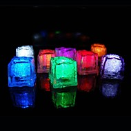 36pcs Color Changing Ice Cubes LED light Christmas Party Wedding Bar Restaurant