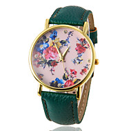 Women's Watch Fashion Flower Pattern