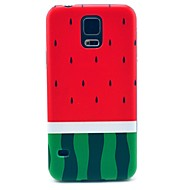 For Samsung Galaxy etui Mønster Etui Bagcover Etui Frugt PC for Samsung S5